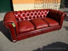 vintage antique red leather chesterfield 3 seater sofa made by wade pegasus chesterfield sofa leather 3