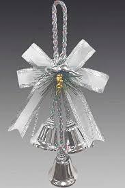 Елочное украшение <b>Подвеска Бант</b>-<b>колокольчик</b> 162448 ...