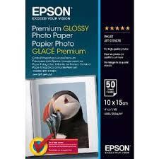 <b>Epson</b> 4 x 6 Premium <b>Glossy Photo Paper</b> 50 Pack   Officeworks