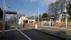 High School tram stop