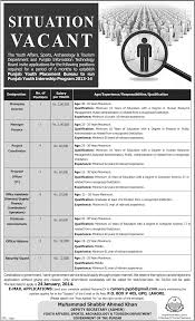 govt jobs lahore youth affairs sports tourism department punjab govt jobs lahore youth affairs sports tourism department punjab