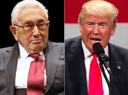 Image result for kissinger and trump