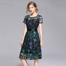 Robe Femme <b>Embroidery Vintage</b> reviews – Online shopping and ...