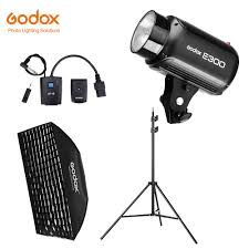<b>Godox E300</b> 300Ws Photography Studio Flash Strobe Light + 50 x ...