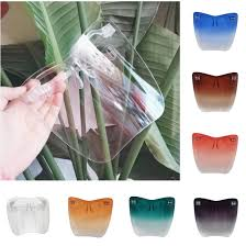 <b>2020 new fashion</b> Face Shield Acrylic full face shield with glasses ...