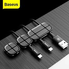 <b>Baseus</b> Cable Winder Flexible Silicone USB Cable Organizer Wire ...
