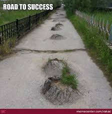 Bumpy Road by rakac - Meme Center via Relatably.com