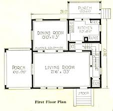 Sears Walton   Sears Modern HomesIf you look at the floor plan  you    ll see this house is only      wide  Is the yellow house      wide  Yes  I    d say that it is