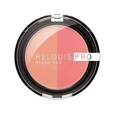 Relouis Pro <b>Румяна компактные Blush</b> Duo, тон 201