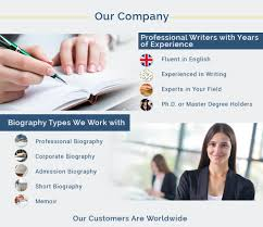 professional bio writing service our bio writing service features