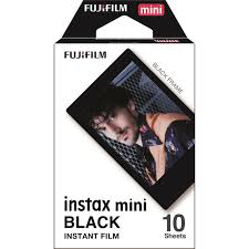 <b>Fujifilm Instax Mini</b> Film <b>Black</b> for <b>Instax Mini</b> Cameras (10 Pack) | JB ...