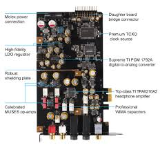 essence stx ii 7 1 sound cards asus global ultra low jitter