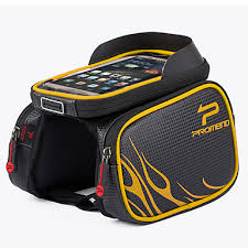 1 L Cell Phone Bag Bike Frame Bag Top Tube Bike <b>Saddle Bag</b> ...