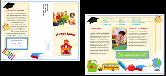 child care brochure template 17 child care owner child care business cards child care folders child care marketing preschool marketing