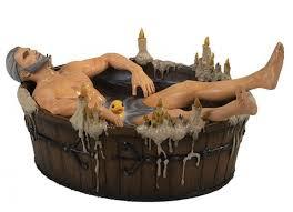 The <b>Witcher Фигурка</b> Geralt in Bath Statuette - Акушерство.Ru