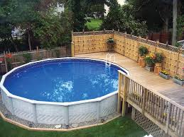 Small Picture Garden Design Garden Design with Above Ground Pool Landscaping