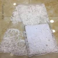 Wholesale Embroidery <b>Beads</b> Net Fabric for Resale - Group Buy ...