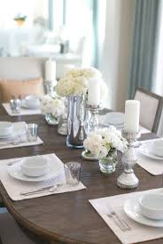 dining table setting room