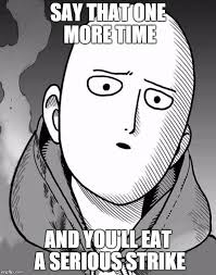 one punch man - Imgflip via Relatably.com