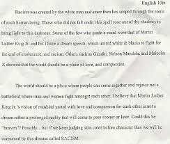 essay racism racism essay   term papers    words