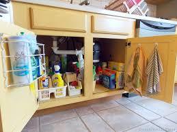photos kitchen cabinet organization: under the sink organizing under my kitchen sink under the sink