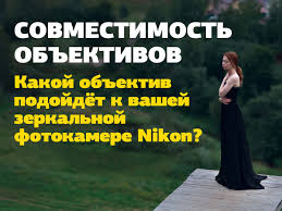 Какой <b>объектив</b> подойдет к вашей зеркальной фотокамере <b>Nikon</b> ...