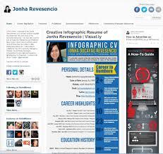 the dawn of the social cv screenshot of a social cv example