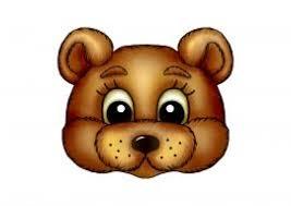 <b>Маска</b> медведя из бумаги на голову | Медведь, Для детей, <b>Маски</b>