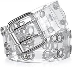 Clear - Belts / Accessories: Clothing, Shoes & Jewelry - Amazon.com