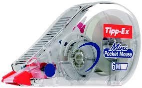 Корректирующие <b>ленты</b> Tipp-Ex Mini Pocket Mouse <b>Коробка</b> x10