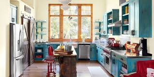 home decorating ideas inspiration decor  landscape  blue ribbon kitchen