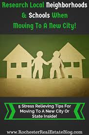 five stress relieving tips for moving to a new city or state research local neighborhoods schools when moving to a new city