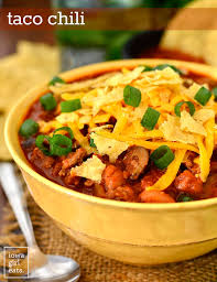 <b>Taco Chili</b> - Iowa Girl Eats