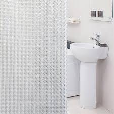 Штора для <b>ванной</b> комнаты <b>Tatkraft</b> CHRYSTAL 3D 180x180cm