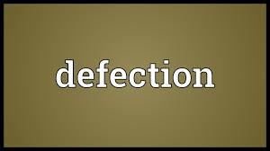 「defection」の画像検索結果