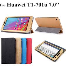 T1 701u flip <b>leather case For</b> Huawei Mediapad T1 7.0 <b>Tablet</b> Cover ...