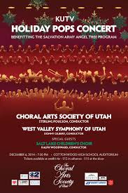 christmas the salt lake children s choir casu christmas concert poster 2014poster
