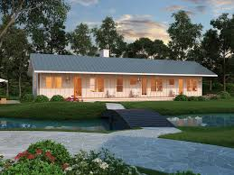 Small House Plans   Houseplans comSignature Ranch Exterior   Front Elevation Plan       Houseplans com
