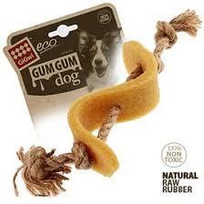 <b>GiGwi Игрушка</b> для средних и крупных собак Доллар из эко-резины