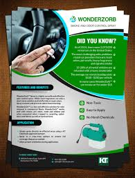 serious professional flyer design for kt chemicals by creative flyer design by creative bugs for specialty chemical company needs an informational marketing flyer