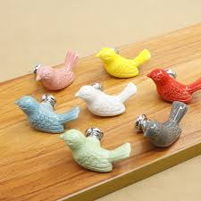 <b>Cute</b> Animal <b>Peace Dove</b> Ceramic handle Design Ceramic Drawer ...