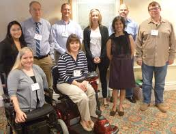 Committee on Disability Issues in Psychology  clockwise back row to front   Mara Lunaria  Joseph F  Rath  PhD  James L  Werth  PhD  Ann Marie Warren  PhD     American Psychological Association