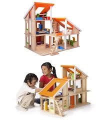 Plan Toys Chalet Dollhouse   Furniture   Modern Baby Toddler    Plan Toys Chalet Dollhouse