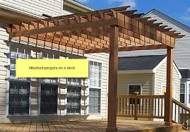 Plans Pergola Attached To House PDF Woodworkingplans pergola attached to house