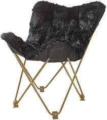 Urban Shop Mongolian <b>Butterfly Chair</b>, <b>Black</b>: Amazon.ca: Toys ...