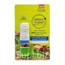 Био <b>бальзам для губ</b> Green Planet Кунжутное масло бамбук и ...