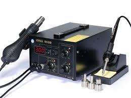 Термовоздушная <b>паяльная станция</b> 2 в 1 <b>YIHUA</b>-852/<b>852D</b>/<b>852D+</b>