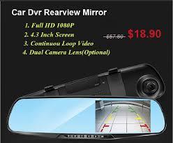 <b>4.3</b> Inch <b>Car DVR</b> Dual Lens <b>Car Camera</b> FHD 1080P Video ...