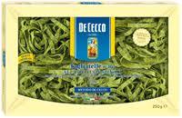 <b>Макароны DE CECCO</b> Таглиателе <b>яичные</b> со шпинатом – купить ...