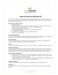 good sample writing your cv   essay and resumecover letters  how to write and effective writing your cv free download   good